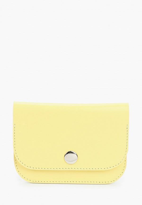 женский кошелёк asya malbershtein, желтый