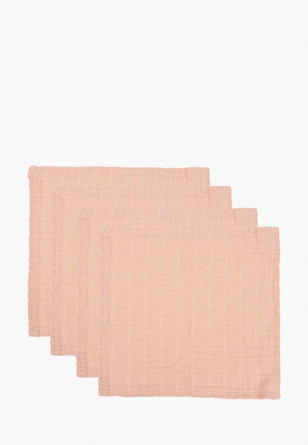 женский платок наследник выжанова, розовый