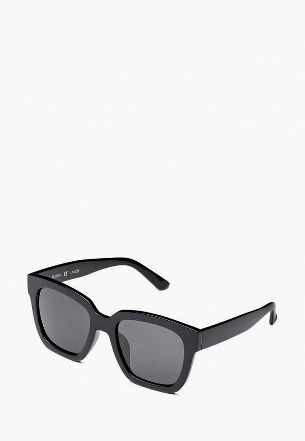 женские солнцезащитные очки fashionlab, черные