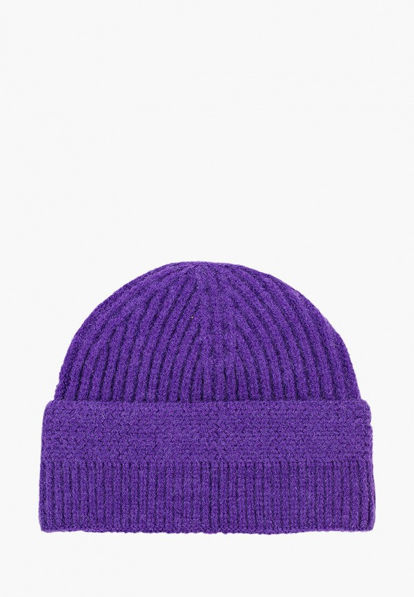 женская шапка vitacci, фиолетовая