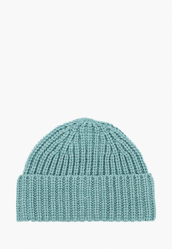 женская шапка vitacci, бирюзовая