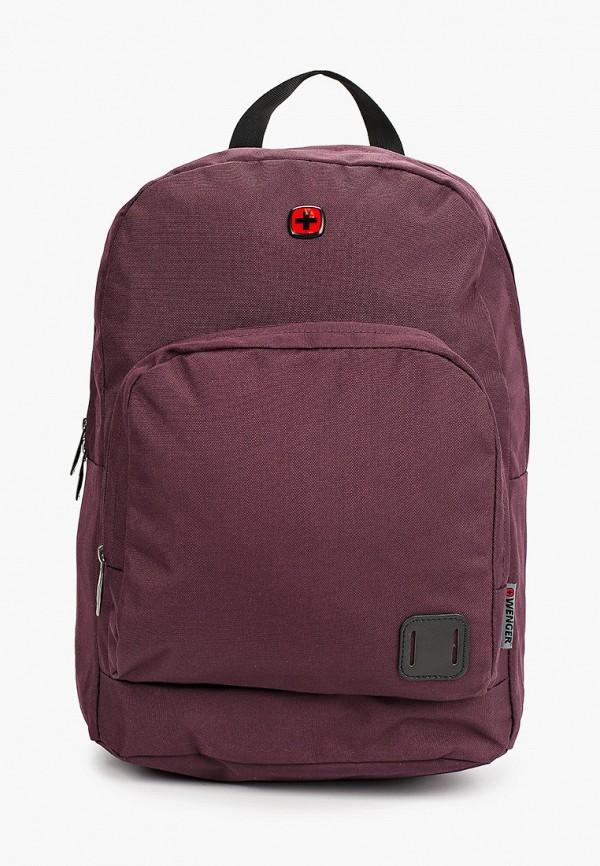 женский рюкзак wenger, бордовый