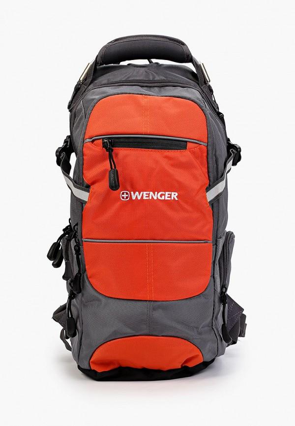 женский рюкзак wenger, оранжевый