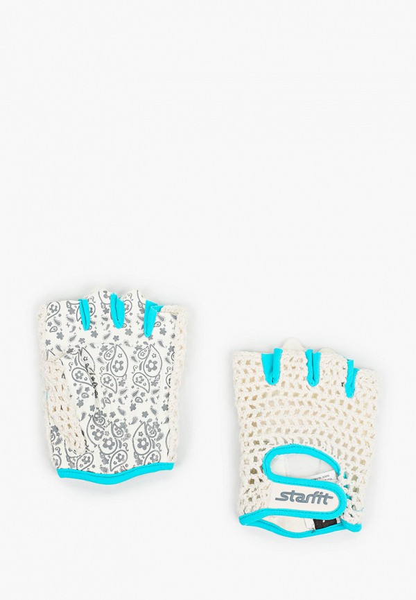 женские перчатки starfit, белые