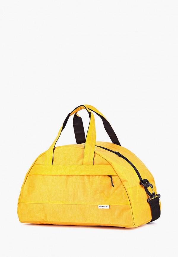 женская сумка wascobags, желтая