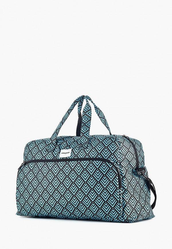 женская сумка wascobags, бирюзовая