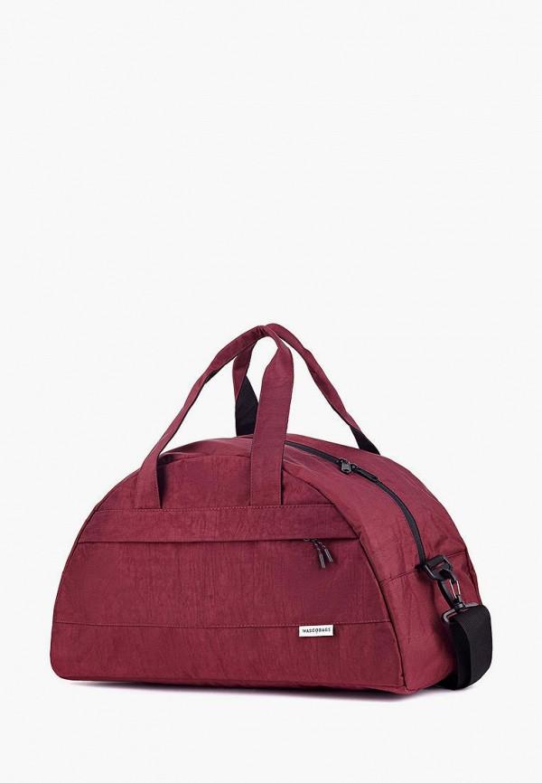 женская сумка wascobags, бордовая