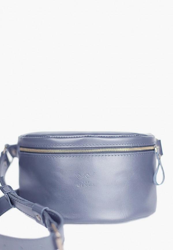 женская сумка the wings, синяя