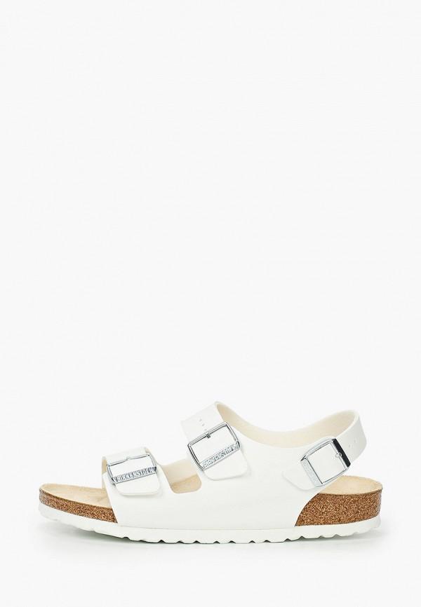 женские сандалии birkenstock, белые