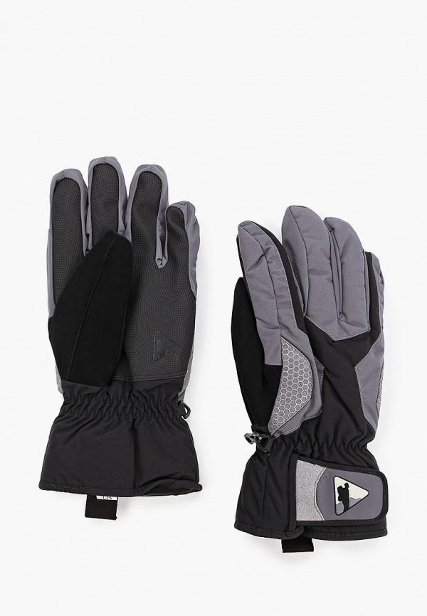 женские текстильные перчатки bask, серые