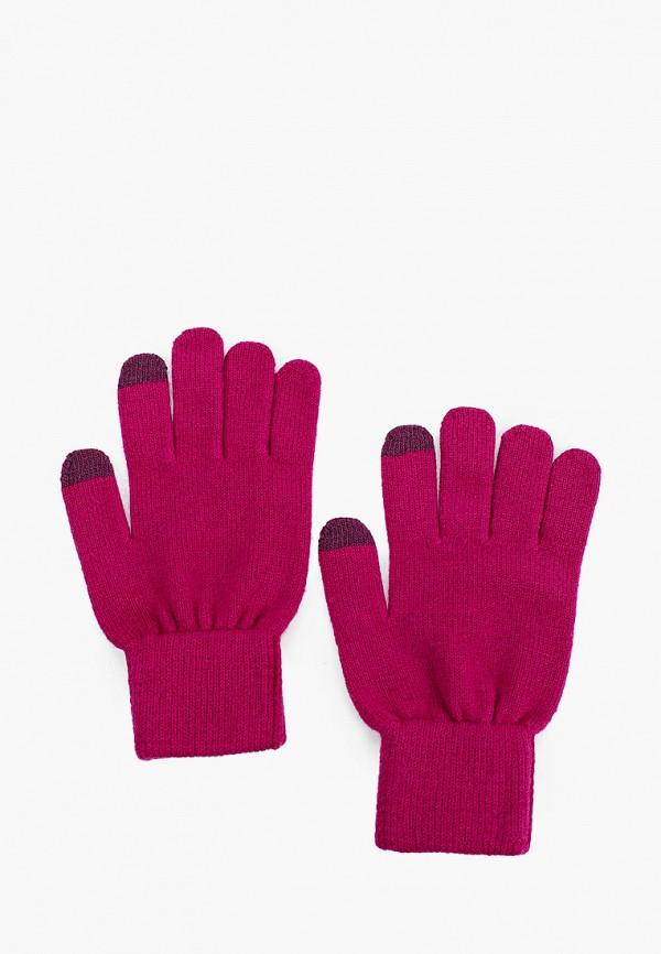 женские текстильные перчатки norveg, фиолетовые