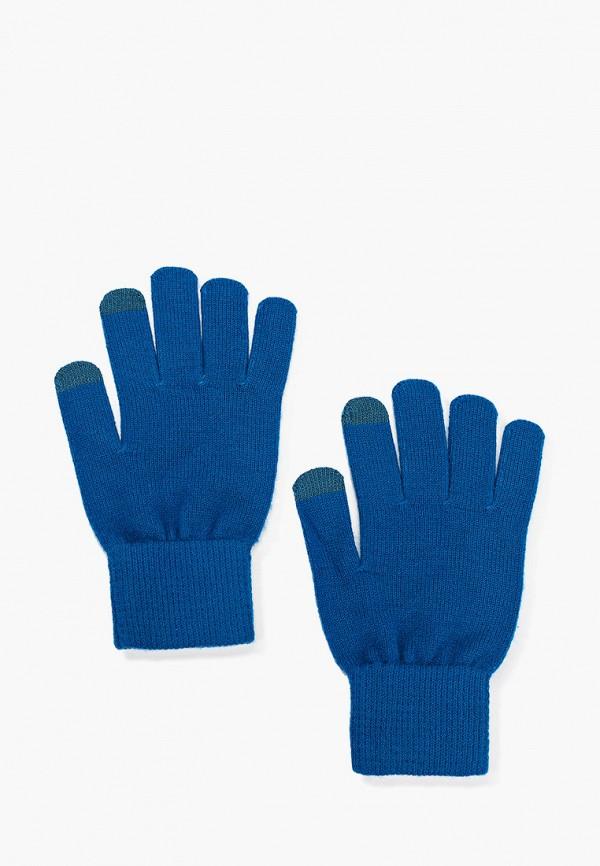 женские текстильные перчатки norveg, синие