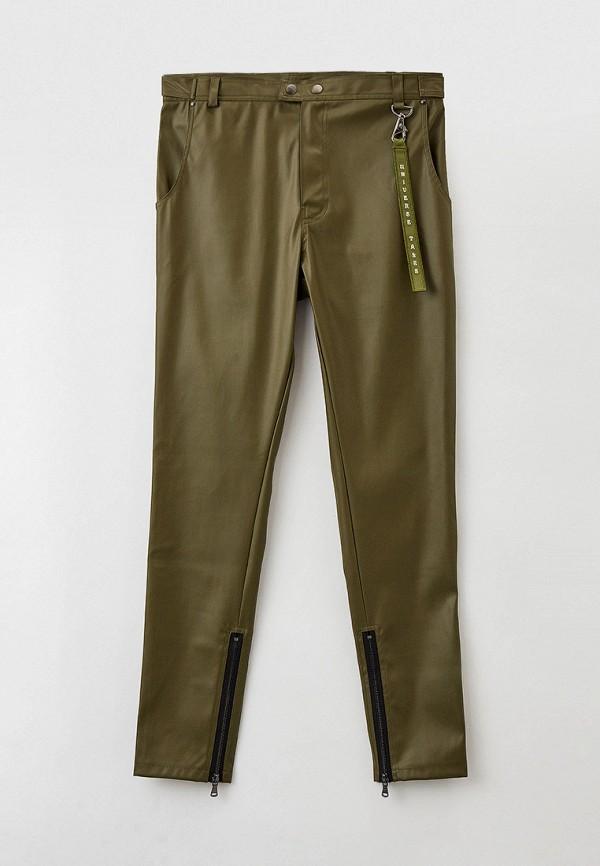 женские зауженные брюки sayonara boy, хаки