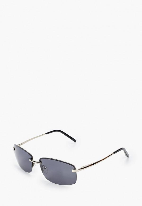женские квадратные солнцезащитные очки grand voyage, серебряные