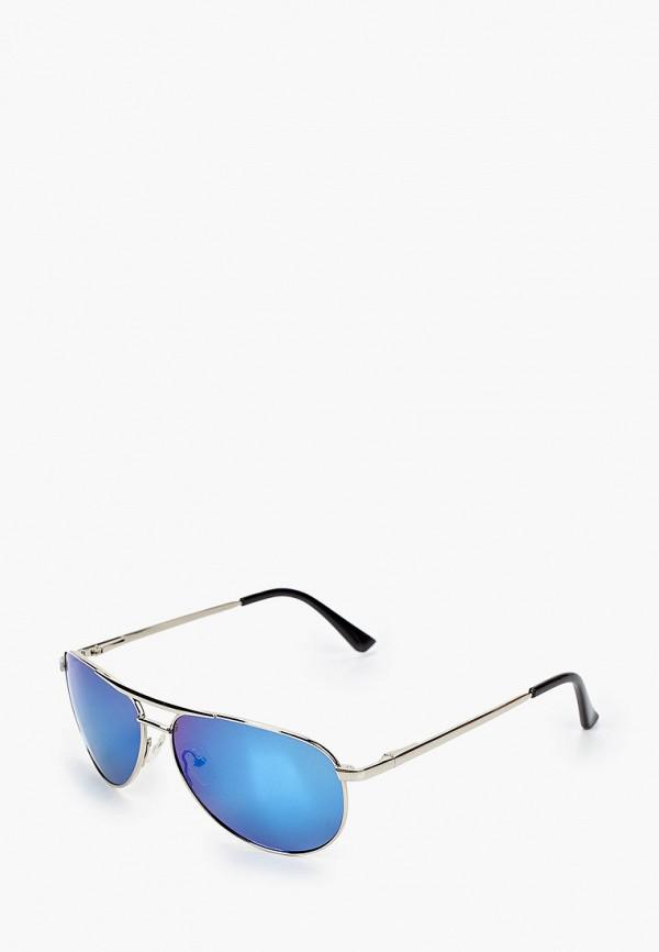 женские авиаторы солнцезащитные очки grand voyage, серебряные