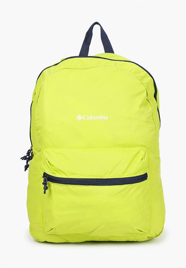 женский рюкзак columbia, зеленый