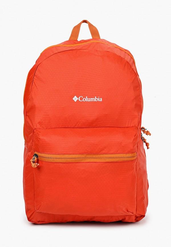 женский рюкзак columbia, оранжевый