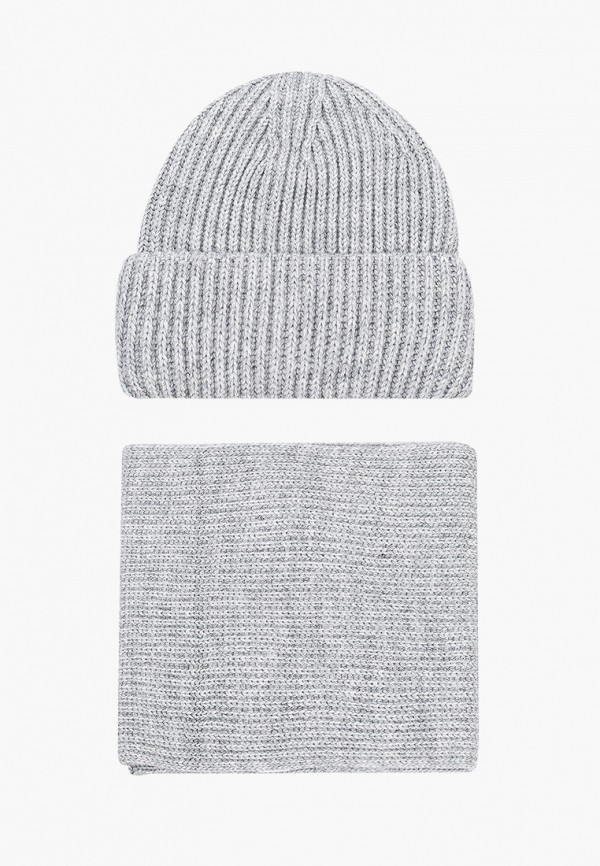 женский шарф сиринга, серый