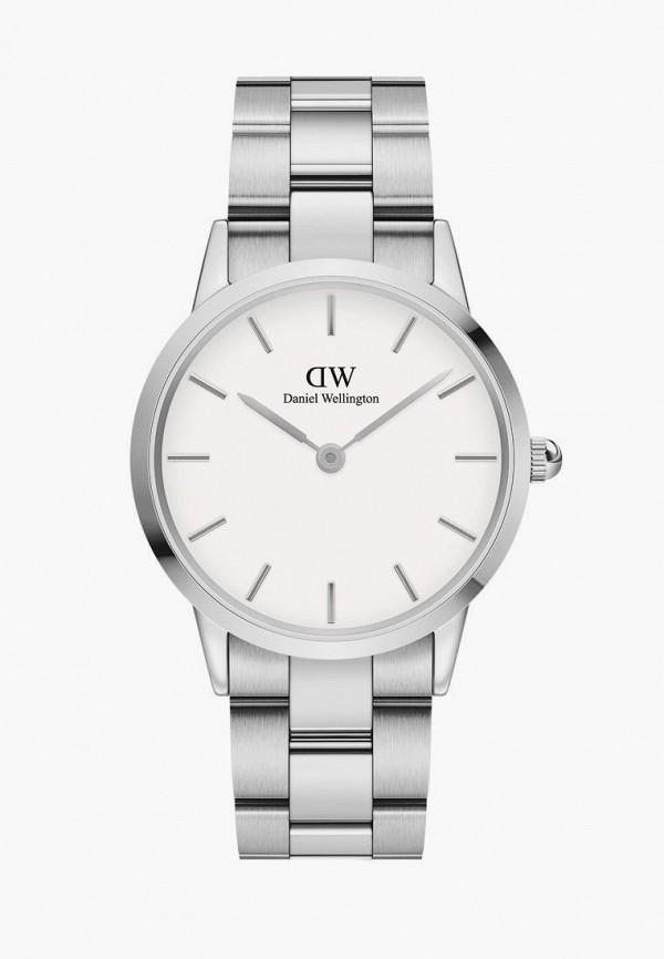 женские часы daniel wellington, серебряные