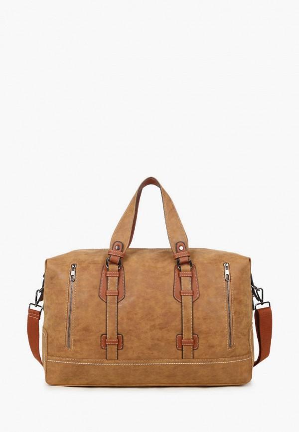 женская дорожные сумка dda, коричневая