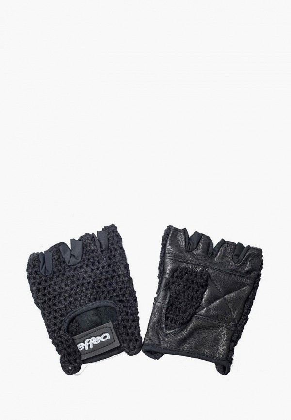 женские перчатки effea, черные