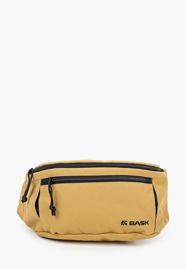 женская поясные сумка bask, коричневая
