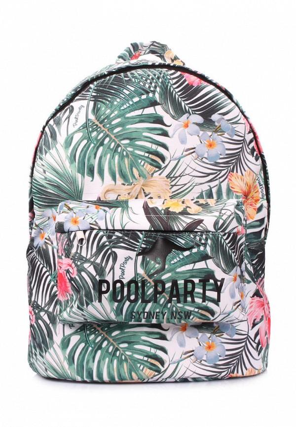 женский рюкзак poolparty, разноцветный