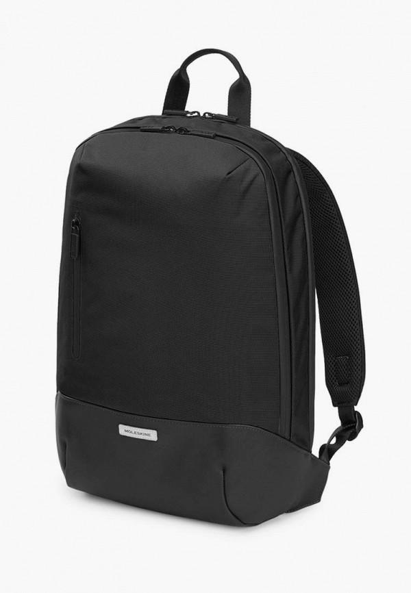 женский рюкзак moleskine, черный