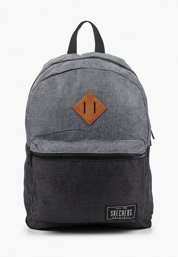женский рюкзак skechers, серый