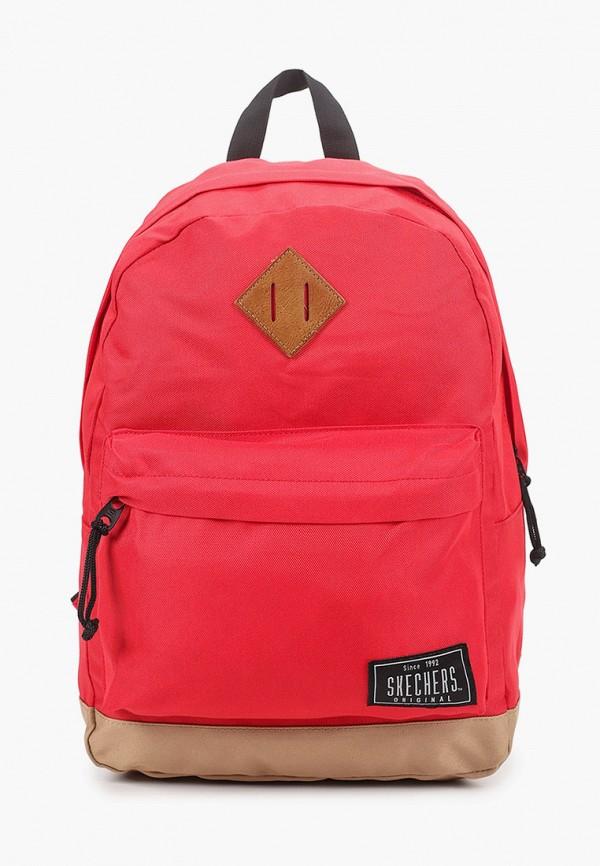 женский рюкзак skechers, красный