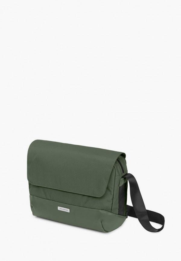 женская сумка moleskine, зеленая