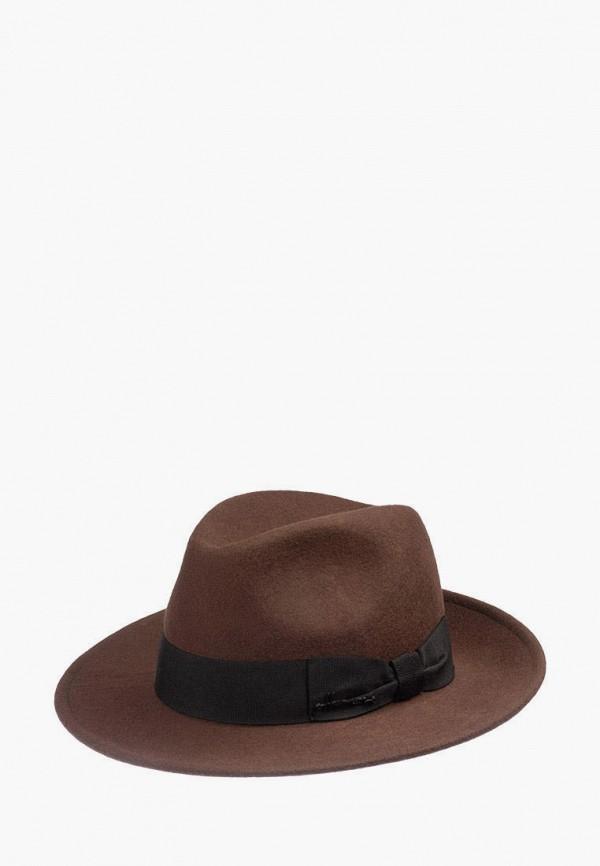 женская шляпа herman, коричневая