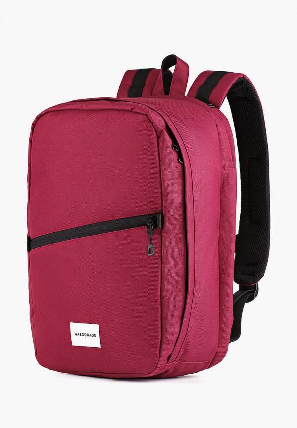 женский рюкзак wascobags, бордовый