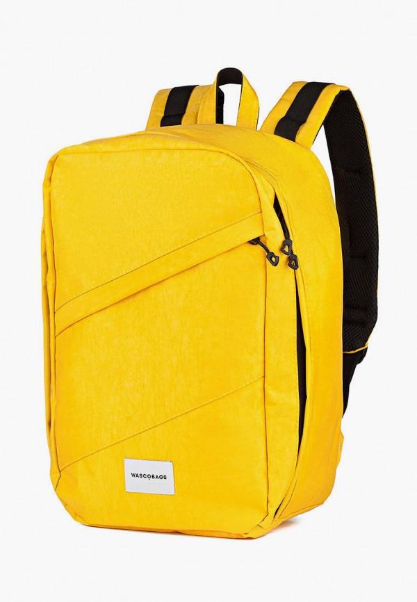 женский рюкзак wascobags, желтый