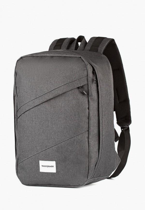 женский рюкзак wascobags, серый