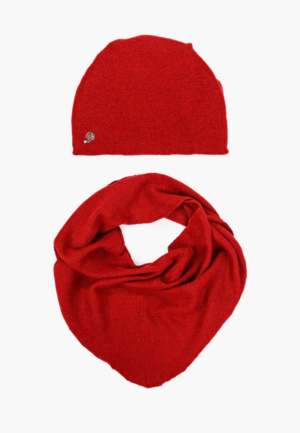 женский шарф сиринга, красный