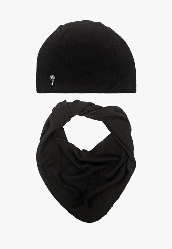 женский шарф сиринга, черный
