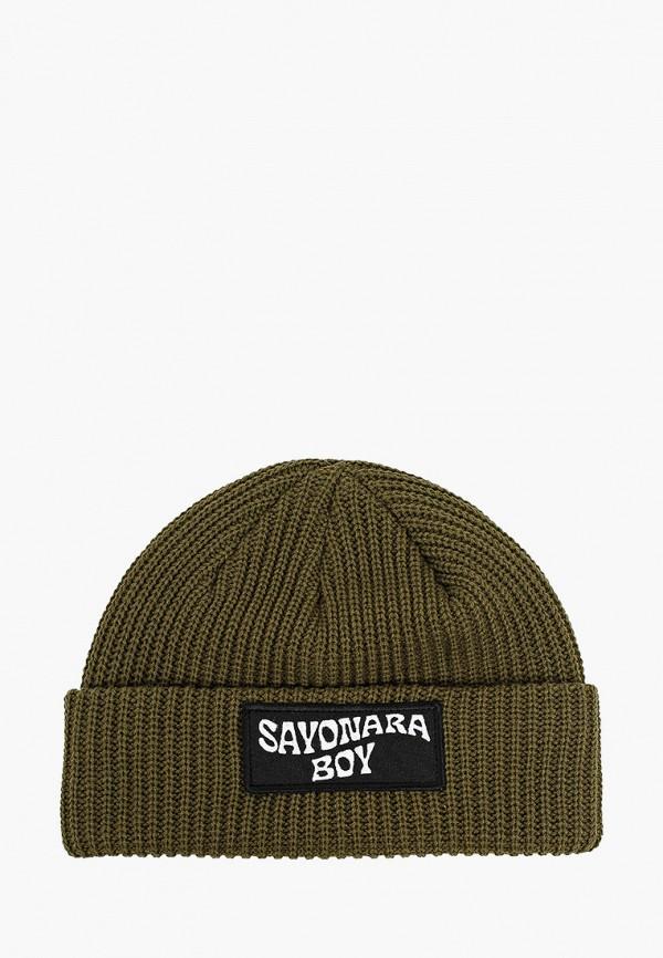 женская шапка sayonara boy, хаки