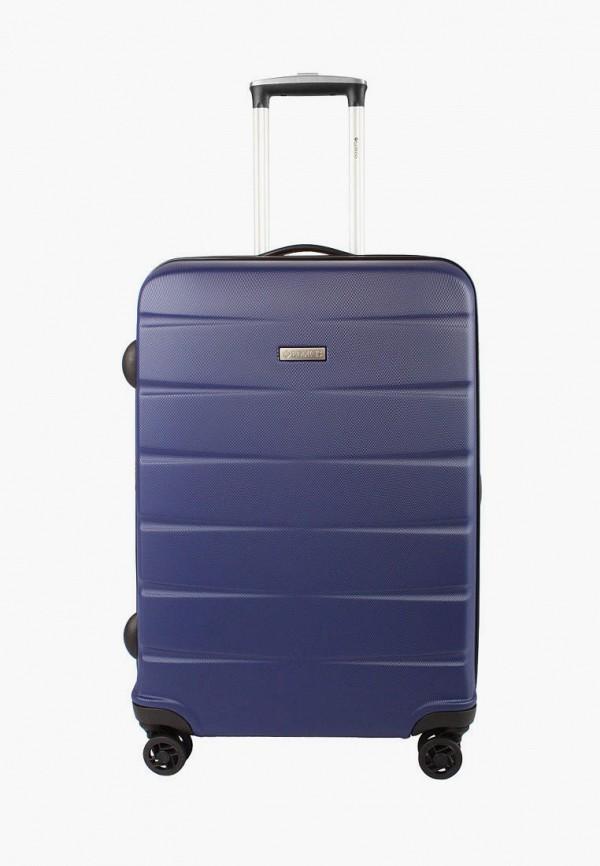 женский чемодан edmins, синий