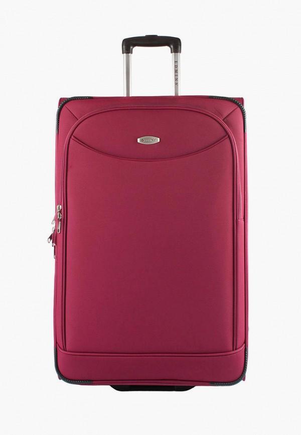 женский чемодан edmins, розовый