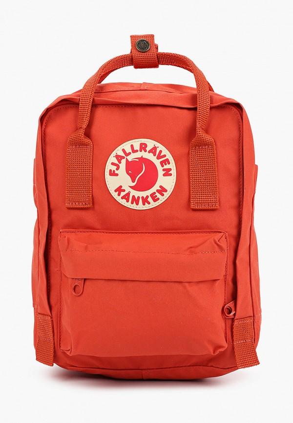 женский рюкзак fjällräven kånken, оранжевый