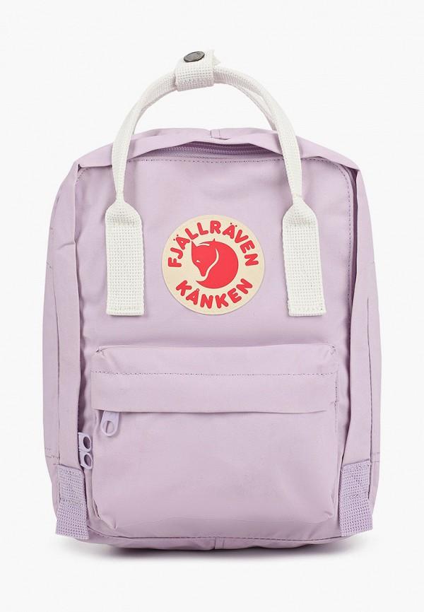 женский рюкзак fjällräven kånken, фиолетовый