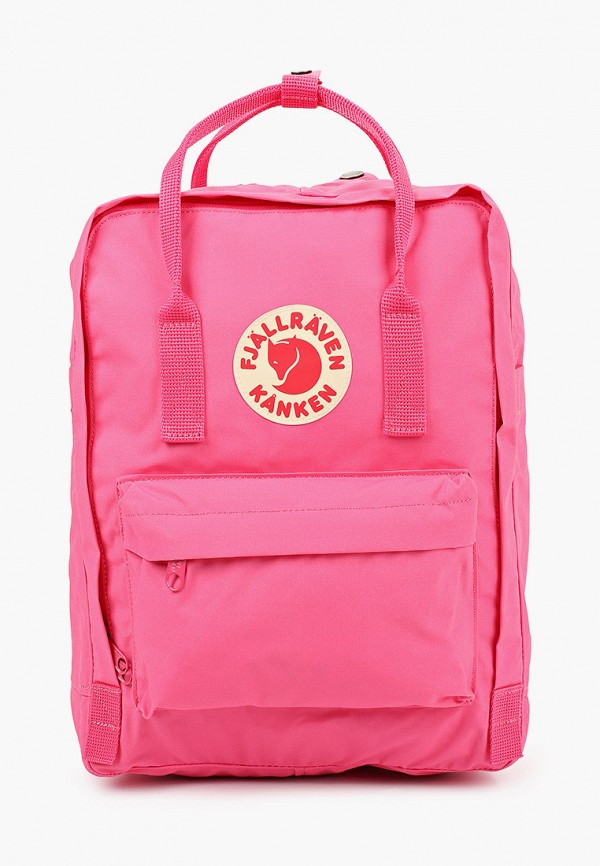 женский рюкзак fjällräven kånken, розовый
