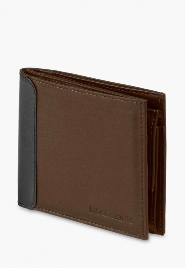 женский кошелёк moleskine, коричневый