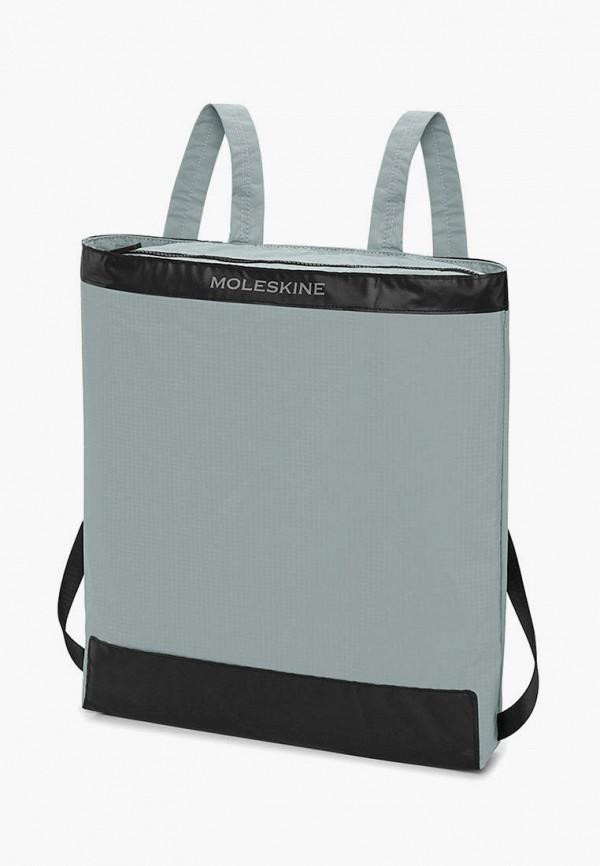 женский рюкзак moleskine, бирюзовый