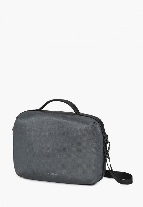 женская сумка moleskine, серая