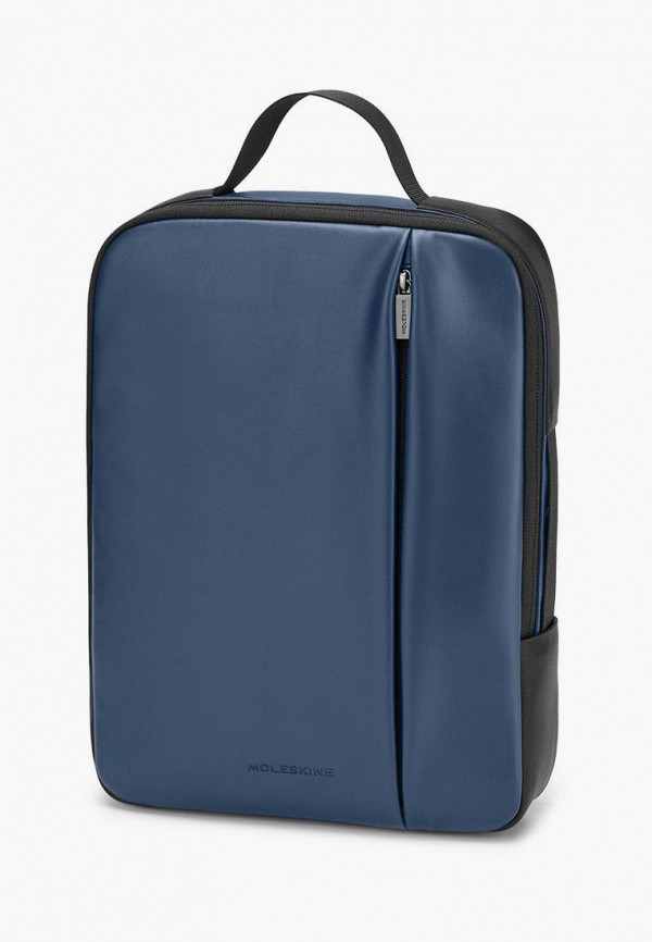 женский рюкзак moleskine, синий