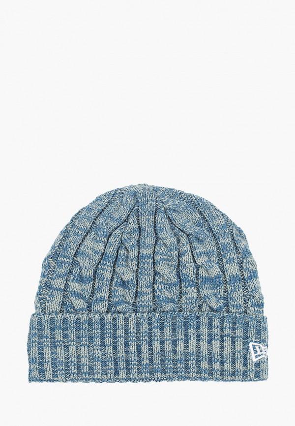 женская шапка new era, бирюзовая