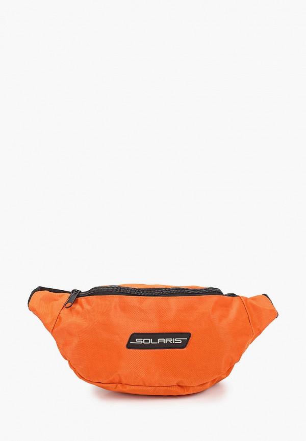 женская поясные сумка solaris, оранжевая