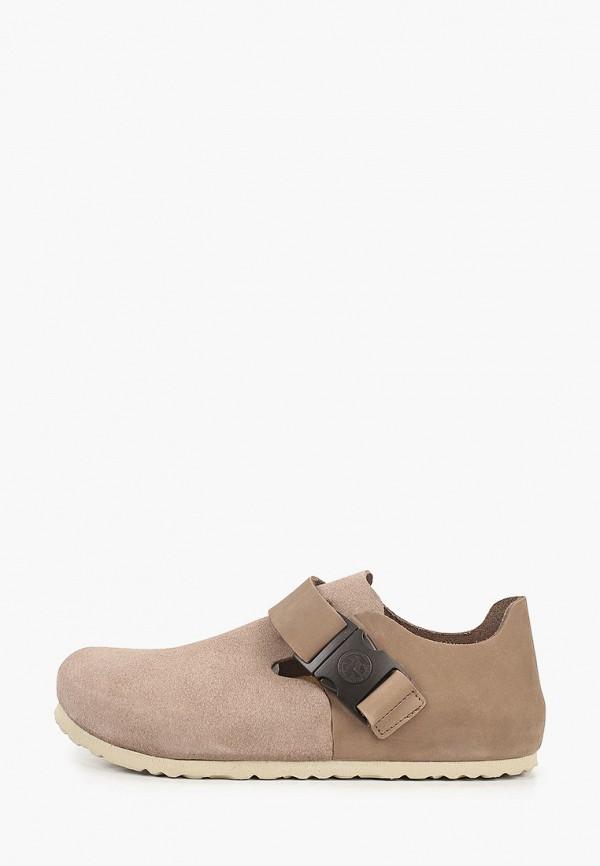 женские низкие ботинки birkenstock, бежевые